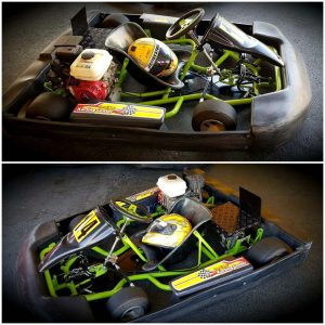 Kids One Seater Go Kart